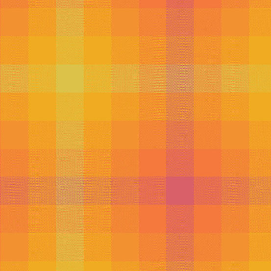 Kaleidoscope Stripes & Plaids  WV-9541-Marmalade Plaid