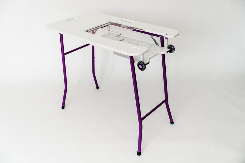 SewEzi Portable Table with Free Acrylic Custom Insert & Cover/Carry Case
