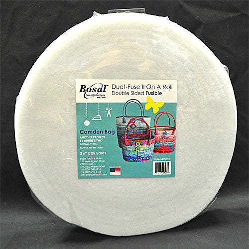 "Duet Fuse II Double-Sided Fusible Batting - 2º"" X 25yd"