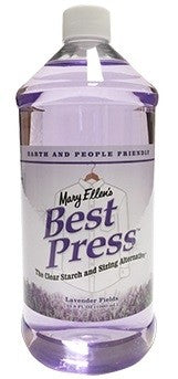 Best Press Spray Starch -  32oz Lavender Fields - DUE TO FREEZING, PRODUCT WILL NOT BE SHIPPED DURING WINTER MONTHS