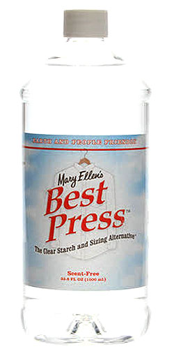 Best Press Spray Starch - Scent Free 32oz - DUE TO FREEZING, PRODUCT WILL NOT BE SHIPPED DURING WINTER MONTHS