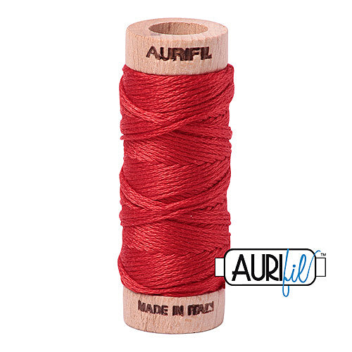 Aurifil Mako Cotton 6-Strand Floss 16 m (18 yd.) spool - Box of 5 spools - 2270 Paprika<br><font color = red>Please note, this item is not available in-store, but will be ordered for you.</font>