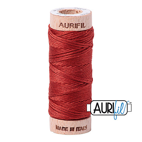 Aurifil Mako Cotton 6-Strand Floss 16 m (18 yd.) spool - Box of 5 spools - 2395 Pumpkin Spice<br><font color = red>Please note, this item is not available in-store, but will be ordered for you.</font>