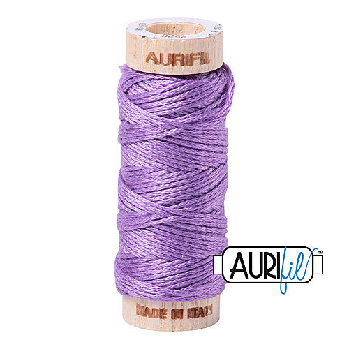 Aurifil Mako Cotton 6-Strand Floss 16 m (18 yd.) spool - Box of 5 spools - 2520 Violet<br><font color = red>Please note, this item is not available in-store, but will be ordered for you.</font>