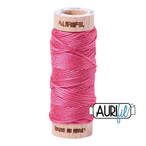 Aurifil Mako Cotton 6-Strand Floss 16 m (18 yd.) spool - Box of 5 spools - 2530 Blossom Pink<br><font color = red>Please note, this item is not available in-store, but will be ordered for you.</font>