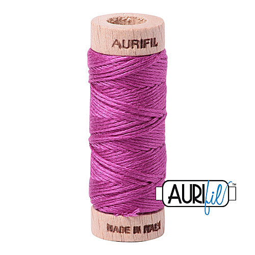 Aurifil Mako Cotton 6-Strand Floss 16 m (18 yd.) spool - Box of 5 spools - 2535 Magenta<br><font color = red>Please note, this item is not available in-store, but will be ordered for you.</font>