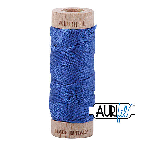 Aurifil Mako Cotton 6-Strand Floss 16 m (18 yd.) spool - Box of 5 spools - 2740 Dark Cobalt<br><font color = red>Please note, this item is not available in-store, but will be ordered for you.</font>