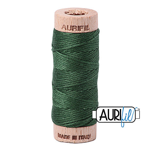 Aurifil Mako Cotton 6-Strand Floss 16 m (18 yd.) spool - Box of 5 spools - 2892 Pine<br><font color = red>Please note, this item is not available in-store, but will be ordered for you.</font>