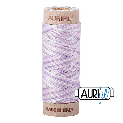 Aurifil Mako Cotton 6-Strand Floss 16 m (18 yd.) spool - Box of 5 spools - 3840 French Lilac<br><font color = red>Please note, this item is not available in-store, but will be ordered for you.</font>