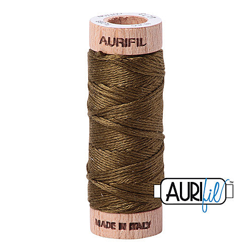Aurifil Mako Cotton 6-Strand Floss 16 m (18 yd.) spool - Box of 5 spools - 4173 Dark Olive<br><font color = red>Please note, this item is not available in-store, but will be ordered for you.</font>