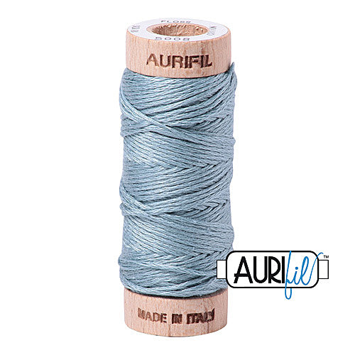 Aurifil Mako Cotton 6-Strand Floss 16 m (18 yd.) spool - Box of 5 spools - 5008 Sugar Paper<br><font color = red>Please note, this item is not available in-store, but will be ordered for you.</font>