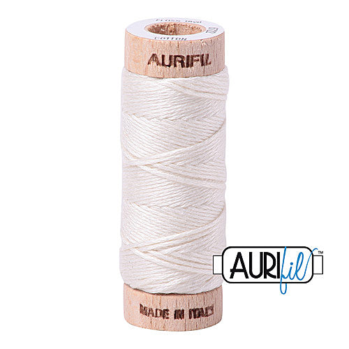 Aurifil Mako Cotton 6-Strand Floss 16 m (18 yd.) spool - Box of 5 spools - 6722 Sea Bisquit<br><font color = red>Please note, this item is not available in-store, but will be ordered for you.</font>