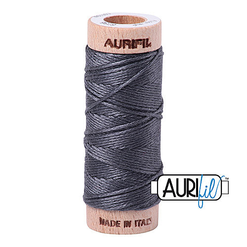 Aurifil Mako Cotton 6-Strand Floss 16 m (18 yd.) spool - Box of 5 spools - 6736 Jedi<br><font color = red>Please note, this item is not available in-store, but will be ordered for you.</font>