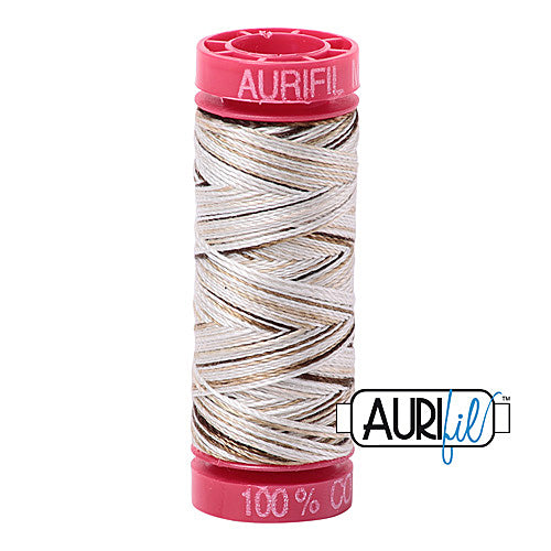 Aurifil Mako 12wt Cotton 50 m (54 yd.) spool - 4667 Nutty Nougat<br><font color = red>Please note, that this colour in this size is not available in-store, but will be ordered for you.</font>