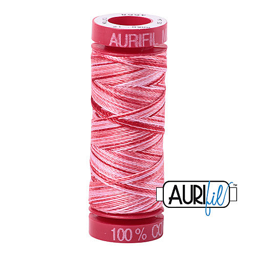 Aurifil Mako 12wt Cotton 50 m (54 yd.) spool - 4668 Strawberry Parfait<br><font color = red>Please note, that this colour in this size is not available in-store, but will be ordered for you.</font>