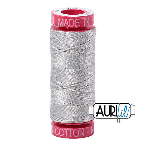 Aurifil Mako 12wt Cotton 50 m (54 yd.) spool - 6726 Airstream<br><font color = red>Please note, that this colour in this size is not available in-store, but will be ordered for you.</font>
