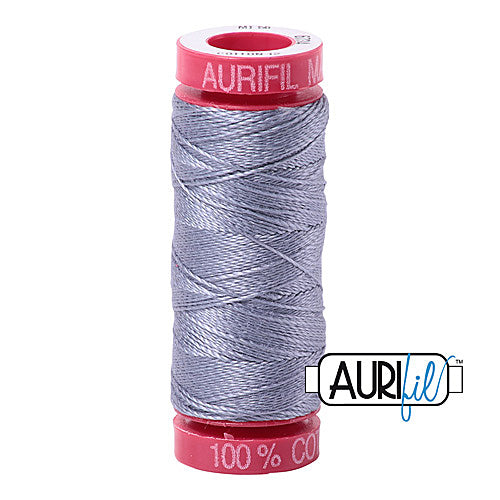 Aurifil Mako 12wt Cotton 50 m (54 yd.) spool - 6734 Swallow<br><font color = red>Please note, that this colour in this size is not available in-store, but will be ordered for you.</font>
