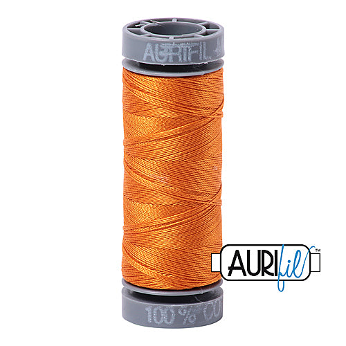 Aurifil Mako 28wt Cotton 100 m (109 yd.) spool - 1133 Bright Orange<br><font color = red>Please note, this item is not available in-store, but will be ordered for you.</font>