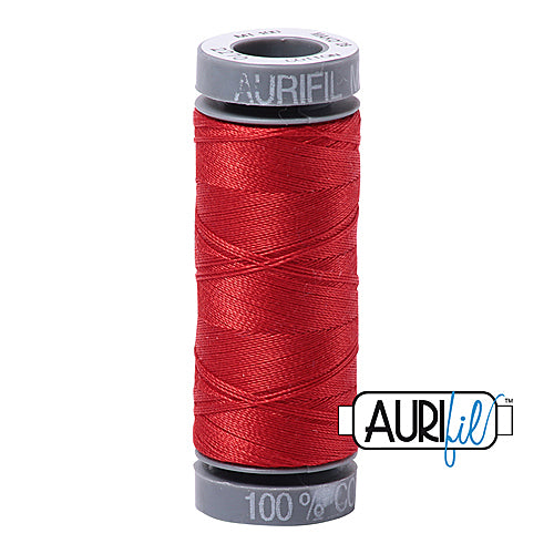 Aurifil Mako 28wt Cotton 100 m (109 yd.) spool - 2270 Paprika<br><font color = red>Please note, this item is not available in-store, but will be ordered for you.</font>