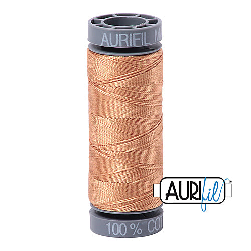 Aurifil Mako 28wt Cotton 100 m (109 yd.) spool - 2320 Light Toast<br><font color = red>Please note, this item is not available in-store, but will be ordered for you.</font>