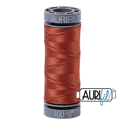 Aurifil Mako 28wt Cotton 100 m (109 yd.) spool - 2390 Cinnamon Toast<br><font color = red>Please note, this item is not available in-store, but will be ordered for you.</font>