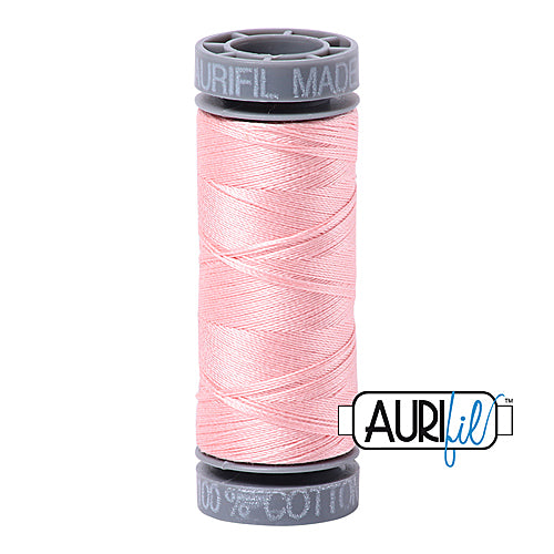 Aurifil Mako 28wt Cotton 100 m (109 yd.) spool - 2415 Blush<br><font color = red>Please note, this item is not available in-store, but will be ordered for you.</font>