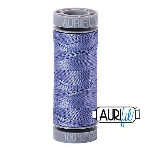 Aurifil Mako 28wt Cotton 100 m (109 yd.) spool - 2525 Dusty Blue Violet<br><font color = red>Please note, this item is not available in-store, but will be ordered for you.</font>