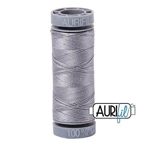 Aurifil Mako 28wt Cotton 100 m (109 yd.) spool - 2606 Mist<br><font color = red>Please note, this item is not available in-store, but will be ordered for you.</font>