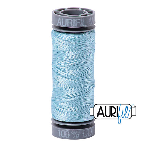 Aurifil Mako 28wt Cotton 100 m (109 yd.) spool - 2805 Light Grey Turquoise<br><font color = red>Please note, this item is not available in-store, but will be ordered for you.</font>