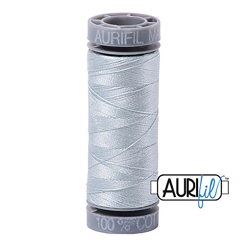Aurifil Mako 28wt Cotton 100 m (109 yd.) spool - 2846 Iceberg<br><font color = red>Please note, this item is not available in-store, but will be ordered for you.</font>