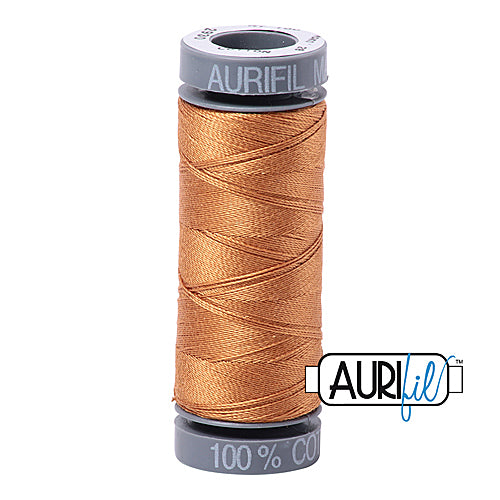 Aurifil Mako 28wt Cotton 100 m (109 yd.) spool - 2930 Golden Toast<br><font color = red>Please note, this item is not available in-store, but will be ordered for you.</font>