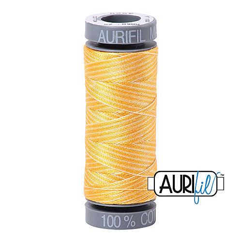 Aurifil Mako 28wt Cotton 100 m (109 yd.) spool - 3920 Golden Glow<br><font color = red>Please note, this item is not available in-store, but will be ordered for you.</font>