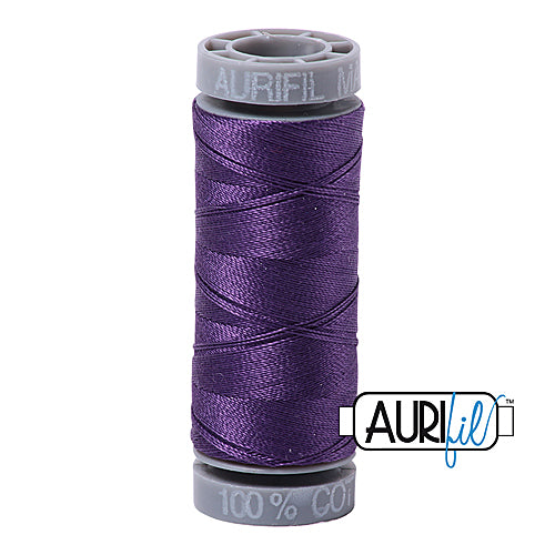 Aurifil Mako 28wt Cotton 100 m (109 yd.) spool - 4225 Eggplant<br><font color = red>Please note, this item is not available in-store, but will be ordered for you.</font>