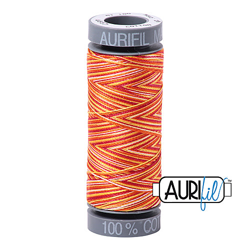 Aurifil Mako 28wt Cotton 100 m (109 yd.) spool - 4657 Tramonto A Zoagli<br><font color = red>Please note, this item is not available in-store, but will be ordered for you.</font>