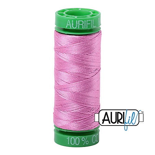 Aurifil Mako 40wt 2-ply Cotton 150 m (164 yd.) spool - 2479 Medium Orchid<br><font color = red>Please note, this item is not available in-store, but will be ordered for you.</font>
