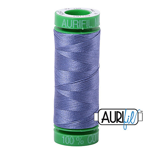 Aurifil Mako 40wt 2-ply Cotton 150 m (164 yd.) spool - 2525 Dusty Blue Violet<br><font color = red>Please note, this item is not available in-store, but will be ordered for you.</font>