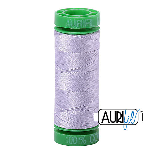 Aurifil Mako 40wt 2-ply Cotton 150 m (164 yd.) spool - 2560 Iris<br><font color = red>Please note, this item is not available in-store, but will be ordered for you.</font>