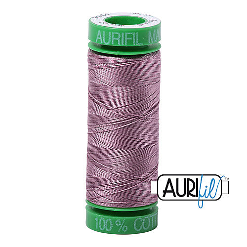 Aurifil Mako 40wt 2-ply Cotton 150 m (164 yd.) spool - 2566 Wisteria<br><font color = red>Please note, this item is not available in-store, but will be ordered for you.</font>