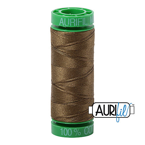 Aurifil Mako 40wt 2-ply Cotton 150 m (164 yd.) spool - 4173 Dark Olive<br><font color = red>Please note, this item is not available in-store, but will be ordered for you.</font>