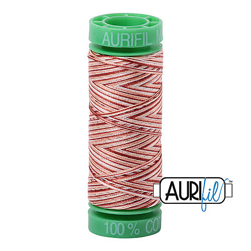 Aurifil Mako 40wt 2-ply Cotton 150 m (164 yd.) spool - 4656 Cinnamon Sugar<br><font color = red>Please note, this item is not available in-store, but will be ordered for you.</font>
