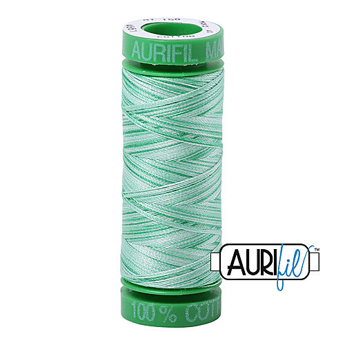 Aurifil Mako 40wt 2-ply Cotton 150 m (164 yd.) spool - 4661 Mint<br><font color = red>Please note, this item is not available in-store, but will be ordered for you.</font>