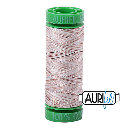 Aurifil Mako 40wt 2-ply Cotton 150 m (164 yd.) spool - 4666 Biscotti<br><font color = red>Please note, this item is not available in-store, but will be ordered for you.</font>