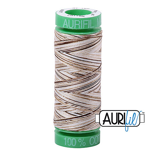 Aurifil Mako 40wt 2-ply Cotton 150 m (164 yd.) spool - 4667 Nutty Nougat<br><font color = red>Please note, this item is not available in-store, but will be ordered for you.</font>
