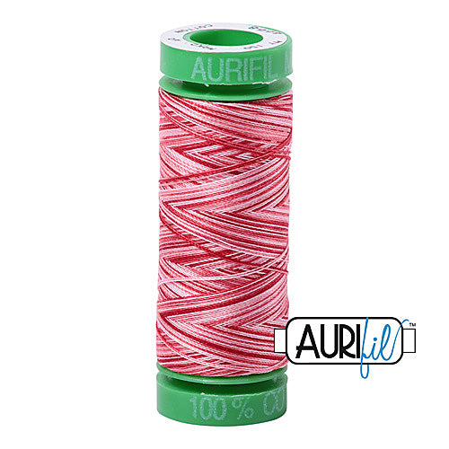 Aurifil Mako 40wt 2-ply Cotton 150 m (164 yd.) spool - 4668 Strawberry Parfait<br><font color = red>Please note, this item is not available in-store, but will be ordered for you.</font>