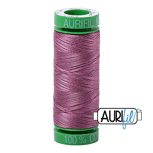 Aurifil Mako 40wt 2-ply Cotton 150 m (164 yd.) spool - 5003 Wine<br><font color = red>Please note, this item is not available in-store, but will be ordered for you.</font>
