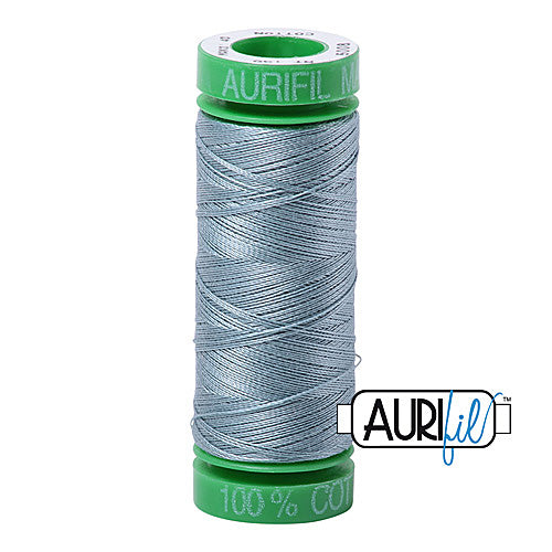 Aurifil Mako 40wt 2-ply Cotton 150 m (164 yd.) spool - 5008 Sugar Paper<br><font color = red>Please note, this item is not available in-store, but will be ordered for you.</font>