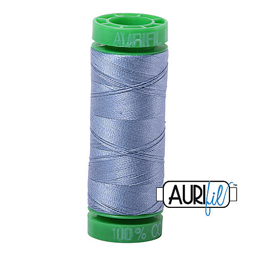 Aurifil Mako 40wt 2-ply Cotton 150 m (164 yd.) spool - 6720 Slate<br><font color = red>Please note, this item is not available in-store, but will be ordered for you.</font>