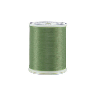 Superior Threads Bottom Line 60 wt Polyester 1298 m (1420 yd.) spool - 614 Light Green