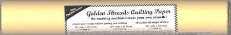 "Golden Threads Quilting Paper - 12"" X 20yds"