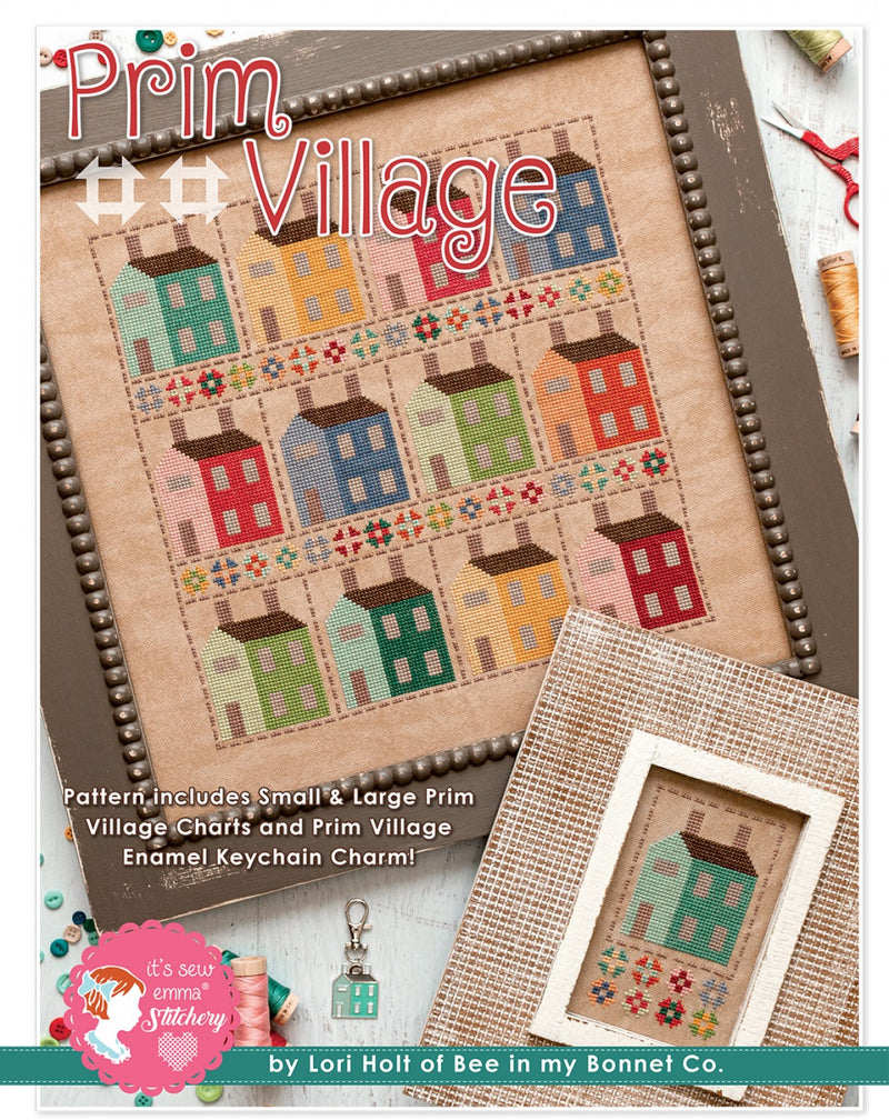 Prim Village Cross Stitch